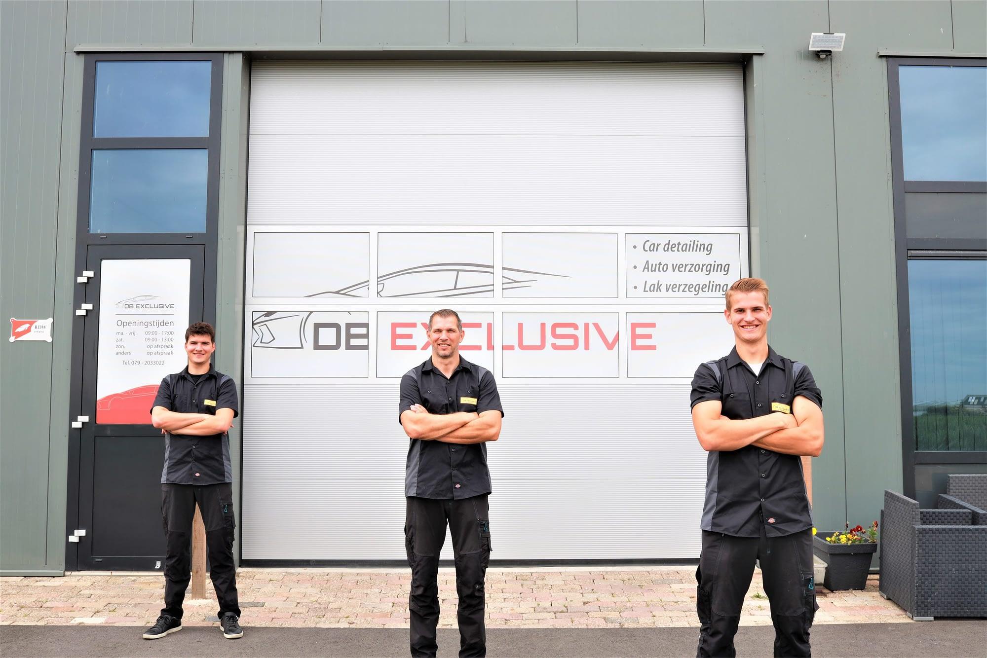 DB Exclusive Car Detailing team